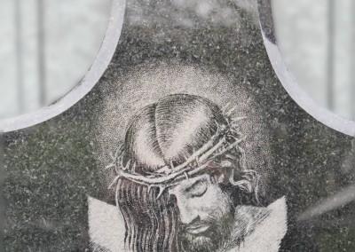 Nagrobki Warszawa jezus