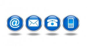 Ikonki kontaktowe do zakładku kamieniarskiego
