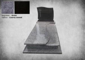 Nagrobki w warszawie granit orion i granit black