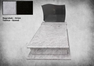 Nagrobek granit orion