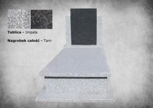 Nagrobek 3d zakład kamieniarski warszawa granit tarn