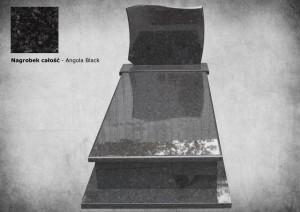 Nagrobek zakład kamieniarski warszawa kamyczek Angola