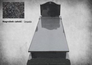 Nagrobki warszawa z wypisem granit impala