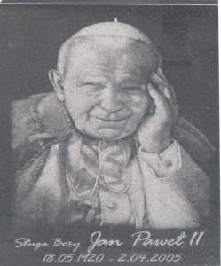 Nagrobek Rzeźba Jan Paweł II