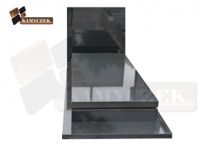 Nagrobek sarkofag czarny szwed zakład kamieniarki warszawa